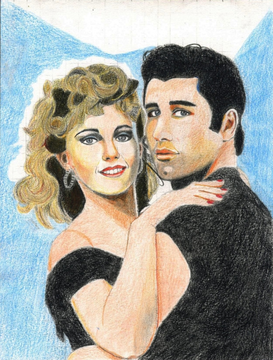 John Travolta, Olivia Newton-John by 336